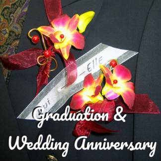 Graduation & Wedding Anniversary