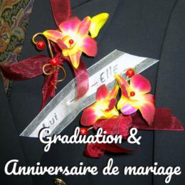 Graduation & anniversaires de mariage